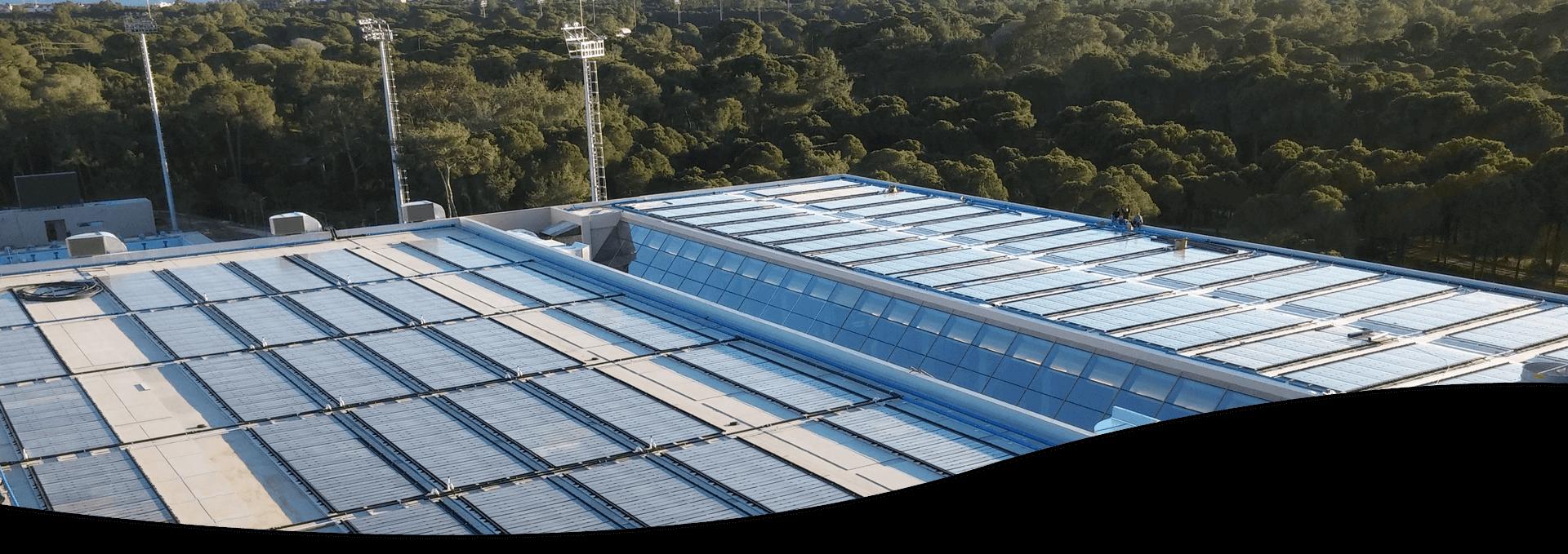 פתרונות חימום בריכות סולאריים