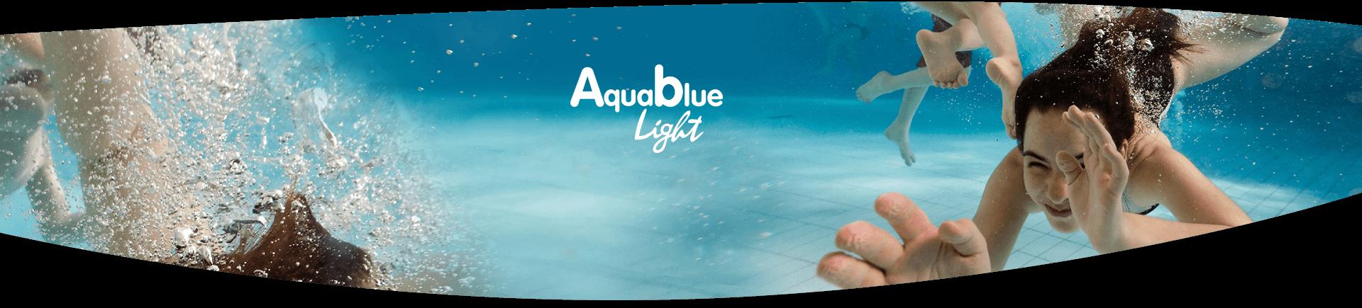 Pool salt system Aqua Blue light