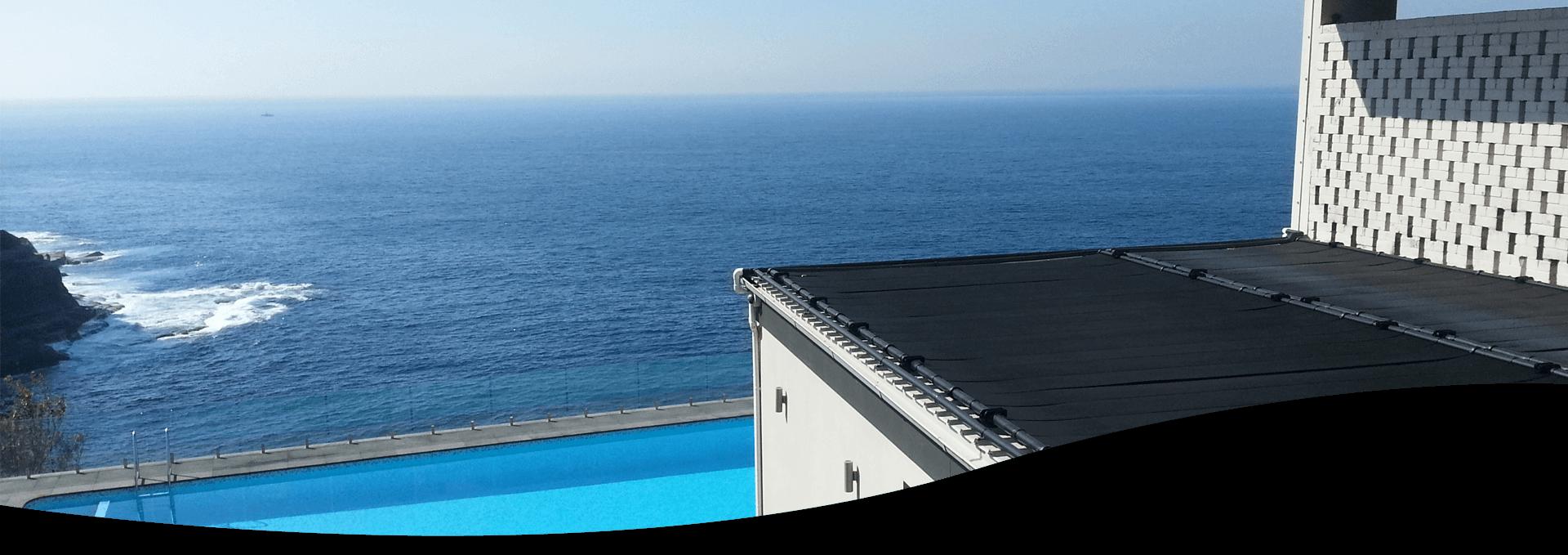 Soluciones solares para piscinas enterradas del l der for Piscina solares