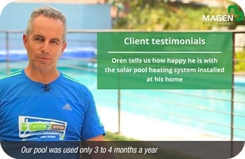 Solar pool heating - How to double your swim days during the year?